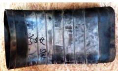 Гофра резиновая воздухозаборника SH F3000