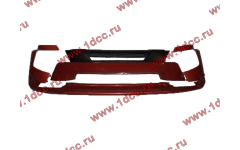 Бампер A7 красный в сборе самосвал с узкой губой
