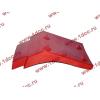Брызговик передней оси правый H2 красный HOWO (ХОВО) WG1642230004 фото 3 Тюмень