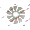 Вентилятор радиатора (на гидромуфту) без кольца d-590 H HOWO (ХОВО) 61500060131 фото 3 Тюмень