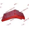 Брызговик передней оси правый H2 красный HOWO (ХОВО) WG1642230004 фото 4 Тюмень